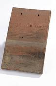 Tuile MONUMENT HISTORIQUE DOYET coloris terre d'Allier - Brique terre cuite complémentaire POROTHERM R20 ép.20cm haut.18,9cm long.50cm - Gedimat.fr