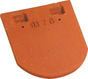 Tuile courte de faîtage PLATE ECAILLE PRESSEE 17x27 coloris Chevreuse - Câble électrique unifilaire cuivre H07VU section 1,5mm² coloris noir en bobine de 5m - Gedimat.fr