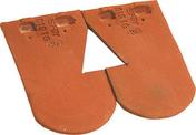 Bi-tuile découpée pour châtière passe-barre PLATE ECAILLE PRESSEE 17x27 coloris Chevreuse - Câble électrique unifilaire cuivre H07VU section 1,5mm² coloris noir en bobine de 5m - Gedimat.fr