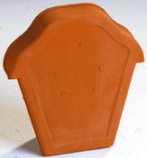 Fronton pour faîtière ondulée à emboîtement coloris ardoise - Enduit de parement traditionnel PARDECO TYROLIEN sac de 25kg coloris O153 - Gedimat.fr