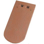 Tuile ALSACE LISSE 16x38 JACOB coloris vieilli masse - Clips double à cheville pour fixation de tube IRL diam.16 à 20mm coloris gris sachet de 10 pièces - Gedimat.fr