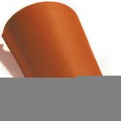 Faîtière/Arêtier conique à emboîtement coloris nuance coloris paille - Tuile CANAL LANGUEDOCIENNE coloris brun - Gedimat.fr
