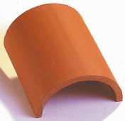 Faîtière 1/2 ronde sans emboîtement coloris vieilli - Coude polypropylene 15° pour tube bleu AWADUKT puits canadien diam.20cm - Gedimat.fr