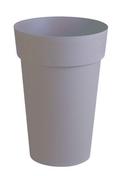 Pot TOSCANE rond diam.46cm haut.65cm 67L taupe - Jardinières - Poteries - Plein air & Loisirs - GEDIMAT