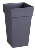 Pot TOSCANE carré dim.39x39cm gris - Bande de chant mélaminé non encollé ép.4mm larg.23mm long.100m Blanc Antik perlé - Gedimat.fr