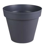 Pot TOSCANE rond diam.80cm haut.66cm 192L gris - Jardinières - Poteries - Plein air & Loisirs - GEDIMAT