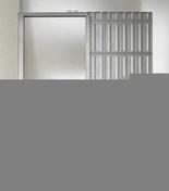 Caisson à galandage simple ESSENTIAL pour porte seule haut.2,04m larg.73cm - Arêtier de ventilation pour tuiles TERREAL coloris vieilli Languedoc - Gedimat.fr