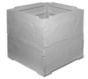Abri compteur d'eau béton dim.int.80x80cm haut.80cm - Bois Massif Abouté (BMA) Sapin/Epicéa non traité section 100x200 long.8m - Gedimat.fr