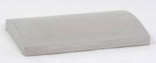 Couvertine béton arrondie ép.7cm larg.35cm long.50cm ton gris - Piliers - Murets - Aménagements extérieurs - GEDIMAT