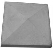Chapeau de pilier 4 PENTES ép.8cm 32x32cm ton gris - Coude plastique mâle diam.15x21mm pour branchement tube polyéthylène diam.20mm en vrac 1 pièce - Gedimat.fr