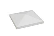 Chapeau de pilier 4 PENTES ép.8cm 50x50cm ton pierre - Plaque de plâtre standard KNAUF KS APV BA10 ép.9,5mm larg.1,20m long.3,00m - Gedimat.fr