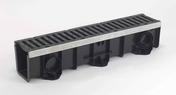 Ensemble caniveau DRAINYLPRO 150 + grille passerelle fonte DRAINYLPRO 150 - Caniveaux - Matériaux & Construction - GEDIMAT
