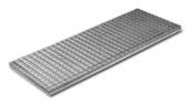 Grille caillebotis acier SM 300 ép.3,5cm larg.40cm long.1m pour caniveau SM 300 - Doublage isolant hydrofuge plâtre + polystyrène PREGYMAX 29,5 hydro ép.13+110mm larg.1,20m long.2,50m - Gedimat.fr