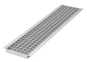 Grille caillebotis acier DRAINECO 200 ép.3cm larg.24,5cm long.1m pour caniveau DRAINECO 200 - Doublage isolant hydrofuge plâtre + polystyrène PREGYMAX 29,5 hydro ép.13+110mm larg.1,20m long.2,50m - Gedimat.fr