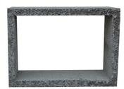 Rehausse de bac dégraisseur béton H25 int.63,5x43X15cm ext.71x51x15cm - Tuile à douille DC12 diam.150mm coloris flammé languedoc - Gedimat.fr