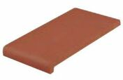 Appui occitan en terre cuite ép.1,5cm long.35cm larg.20cm haut.rabat 4,5cm rouge - Eléments pré-fabriqués - Matériaux & Construction - GEDIMAT