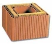 Boisseau en terre cuite TERR'ISOL ép.9cm dim.int.20x20cm haut.33cm - Poutre VULCAIN section 12x60 cm long.4,00m pour portée utile de 3,1 à 3,60m - Gedimat.fr