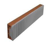 Planelle à rupture thermique long.80cm ép.6,5cm haut.24cm - Briques de construction - Matériaux & Construction - GEDIMAT