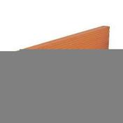 Planelle de rive long.80cm ép.7cm haut.11cm - Tube de coffrage carré SONOTUBE 30x30cm haut.3m - Gedimat.fr
