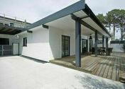 Pot de peinture pour bardage épicéa NELIO couleur Blanc perle RAL 1013 1 litre - Té laiton brut femelle à visser réf.130 diam.15x21mm 1 pièce - Gedimat.fr