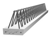 Poutre en béton PM5 larg.15cm long.2,70m - Entrevous EMX ignifugé long.1,20m haut.16cm - Gedimat.fr