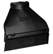 Aéros en matériaux de synthèse VS long.18,4cm larg.13,61cm haut.23,1cm cartons de 12 pièces - Tuile de ventilation PV10 + grille coloris ardoise - Gedimat.fr