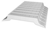 Entrevous en matériaux de synthèse LEADER EMS M1 entraxe de 60cm long.120cm haut.16cm - Planchers - Matériaux & Construction - GEDIMAT