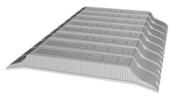 Entrevous en matériaux de synthèse LEADER EMS M2 entraxe de 60cm long.120cm haut.13cm - Planchers - Matériaux & Construction - GEDIMAT