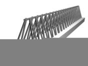 Poutre en béton PM5 larg.15cm long.4,00m - Planelle béton creux NF ép.4.5cm haut.16cm long.50cm - Gedimat.fr