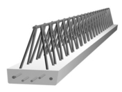 Poutre en béton PM5 larg.15cm long.4,40m - Entrevous en matériaux de synthèse LEADER EMS M1 entraxe de 60cm long.120cm haut.13cm - Gedimat.fr