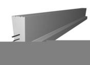 Poutrelle en béton LEADER 146SE haut.14cm larg.10cm long.4,40m - Entrevous en matériaux de synthèse LEADER EMS ECO VS entraxe de 60cm long.120cm haut.13cm - Gedimat.fr