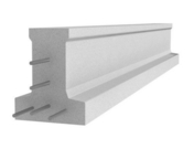 Poutrelle en béton X147 haut.14cm larg.11,4cm long.5,80m - Poutre HERCULE section 35x20cm long.6.3m pour portée utile de 5.3 à 5.90m - Gedimat.fr