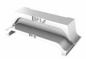 Rupteur en polystyrène moulé ISORUTPEUR-X DB RL17 entraxe de 60cm long.60m haut.17cm - Entrevous EMX ignifugé long.1,20m haut.13cm - Gedimat.fr
