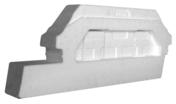 Rupteur longitudinal en transversal expansé long.60cm - Entrevous ISOLEADER MODULO pour travées démodulées - Gedimat.fr
