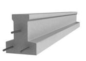 Poutrelle en béton X113 haut.11,4cm larg.9,5cm long.1,90m - Double rive 3/4 pureau pour tuiles DC12 coloris vieilli bourgogne - Gedimat.fr