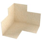 Angle de bande d'étanchéité FERMACELL angle rentrant -paquet de 2 angles - Fenêtre PVC blanc CALINA isolation totale de 100 mm 1 vantail ouverture à la française gauche tirant haut.95cm larg.80cm - Gedimat.fr