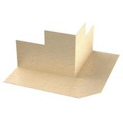 Angle de bande d'étanchéité FERMACELL angle sortant - paquet de 2 angles - Bloc-porte gravé avec inserts à poser non inclus ESCALE huis.73mm haut.2,04m larg.93cm gauche poussant - Gedimat.fr