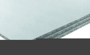 Plaque FERMACELL POWERPANEL H2O HD ép.15mm larg.1,25m long.2,60m - Fronton petit modèle pour faîtière 1/2 ronde et faîtière conique coloris nuancé paille - Gedimat.fr