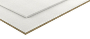 Plaque de sol isolant FIBRE GYPSE FERMACELL fibre de bois BD40 - 1,50x0,50m - Equerre de menuisier en acier inoxydable long.40cm larg.30cm - Gedimat.fr