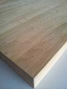 Plan de travail chêne massif brut lamellé-abouté larg.65cm long.1,54m ép.32mm à finir - Plans de travail - Crédences - Cuisine - GEDIMAT
