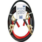 Câbles de démarrage 320A long.3m pinces pro laiton pur - Machines d'atelier - Outillage - GEDIMAT