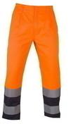 Pantalon de travail à haute visibilité couleur orange et bleu nuit taille XXL - Protection des personnes - Vêtements - Outillage - GEDIMAT