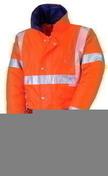 Parka haute visibilité polyester couleur orange et bleu nuit taille XL - Protection des personnes - Vêtements - Outillage - GEDIMAT