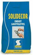 Enduit décoratif SOLIDECOR LAVABLE - sac de 25kg - Enduits effets décoratifs - Peinture & Droguerie - GEDIMAT