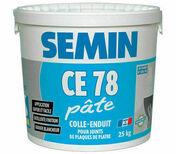Enduit joint CE78 pâte - seau de 25kg - Cheville nylon NTC D.8x40mm - boite de 360 pièces - Gedimat.fr
