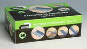 Raccord fourrure T47 - boîte de 50 pièces - Laine de verre TP 238 revêtue kraft - 1,35x0,6m Ep.140mm - R=4,40m².K/W. - Gedimat.fr