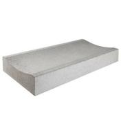 Caniveau béton CC1 larg.40cm haut.12cm long.1m classe U coloris gris - Caniveaux - Matériaux & Construction - GEDIMAT