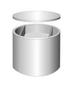 Bac à graisses béton rond 350L - Traitements des eaux - Matériaux & Construction - GEDIMAT