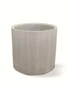 Buse de puits pleine b�ton � embo�tement diam.int.80cm haut.0,50m  - Couvercle de buse b�ton diam.int.1m avec trou de visite diam.50cm - Gedimat.fr