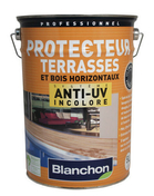 Protection terrasses anti uv 5L - Bois Massif Abouté (BMA) Sapin/Epicéa traitement Classe 2 section 60x220 long.9m - Gedimat.fr